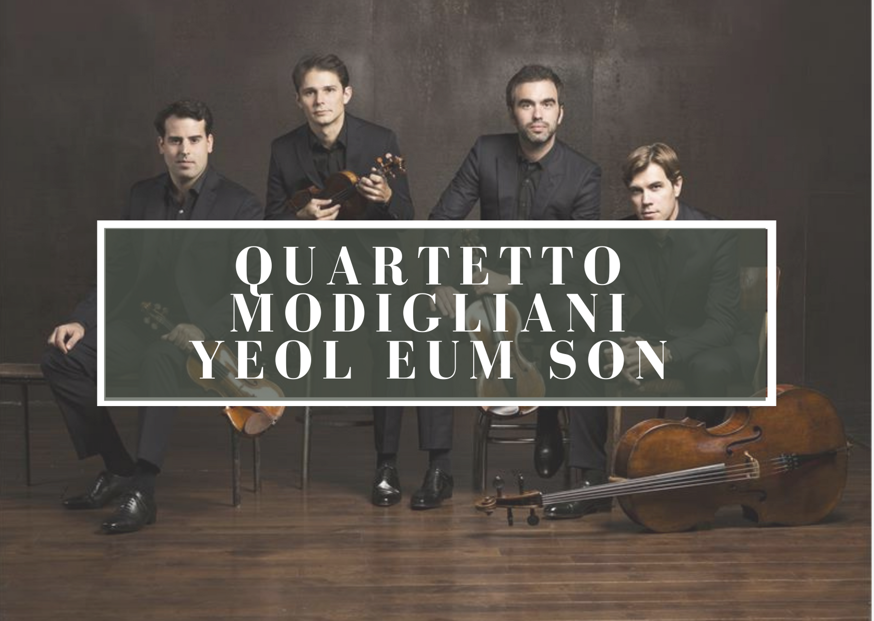 Video del Quartetto Modigliani con la pianista Yeol Eum Son
