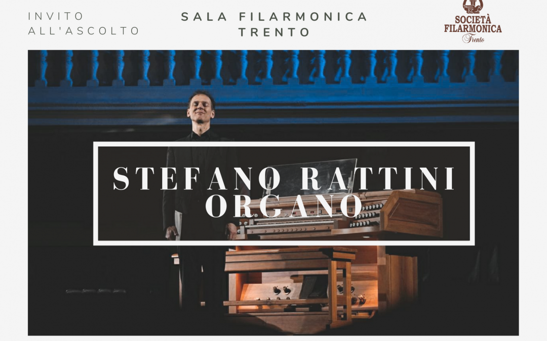 Video Stefano Rattini, organo