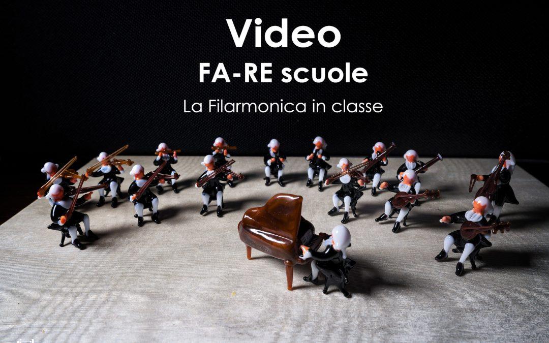 FA-RE Scuole La Filarmonica in classe