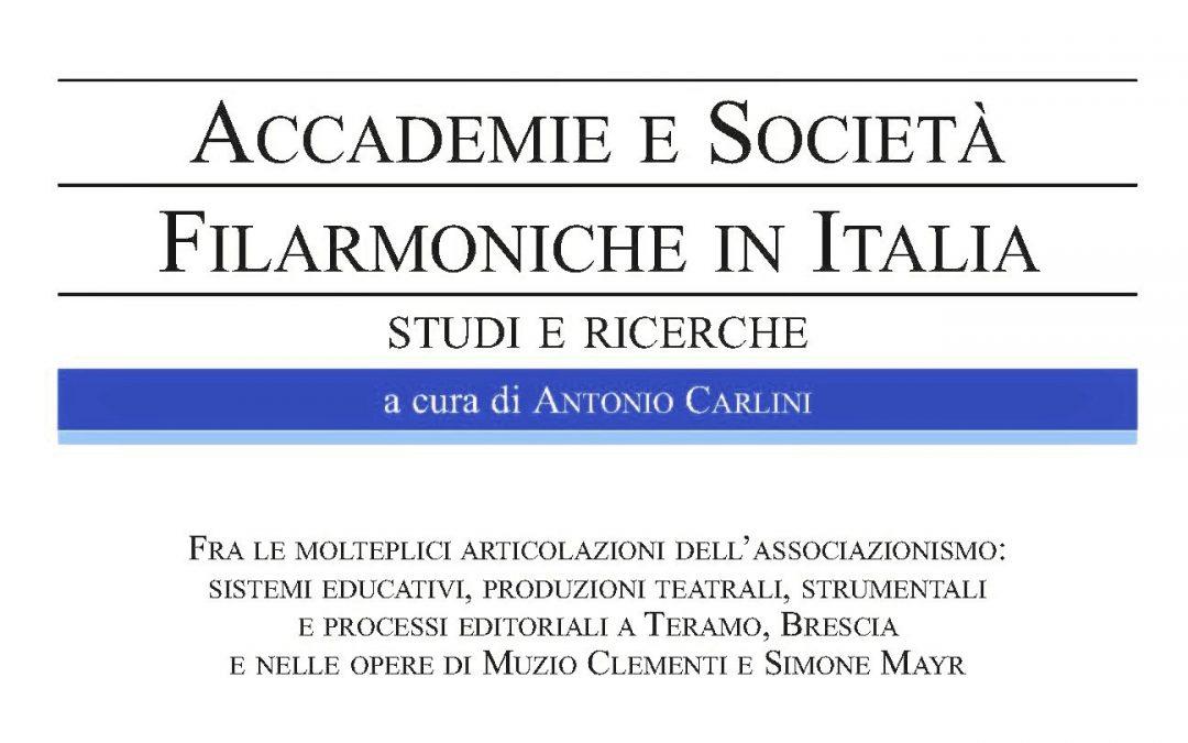 Nuovo Quaderno delle Accademie Filarmoniche