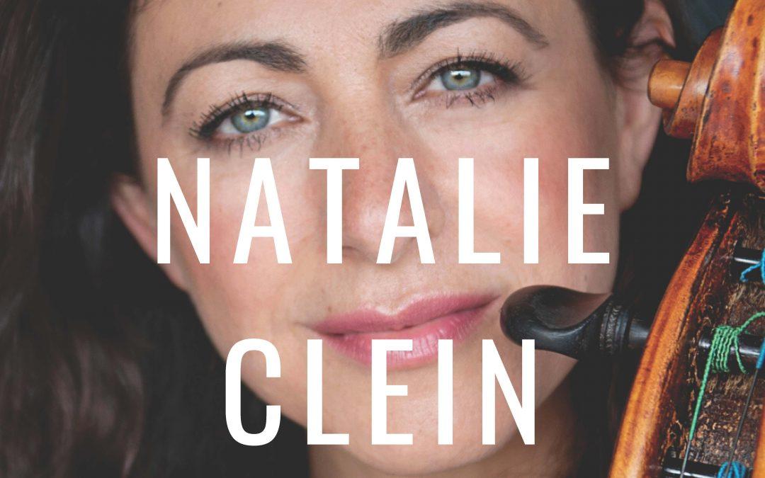 Programma di sala Natalie Clein 27 settembre 2021
